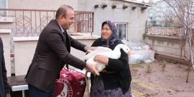 Aksaray'da Hindileri Çalınan Kadına Devlet Desteği