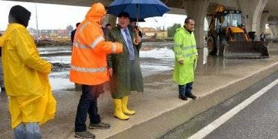 Mersin'de Yağış Önlemi