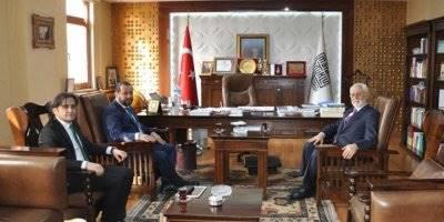 Karaman Rektörü Mehmet Akgül'den Mardin Artuklu Üniversitesine Ziyaret