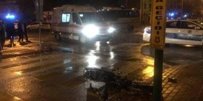 Karaman'da Kazaya Karışan Otomobil Sürücüsü Arkasına Bile Bakmadı