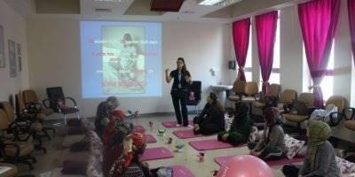 Karaman Devlet Hastanesi 'Gebe Okulu' Daha Konforlu ve Sağlıklı Doğum Yapmalarını Sağlıyor