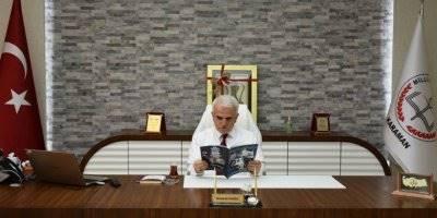 'Leylek Baba' Dergisi Karaman İl Milli Eğitim Müdürü Mevlüt Kuntoğlu'na Takdim Edildi