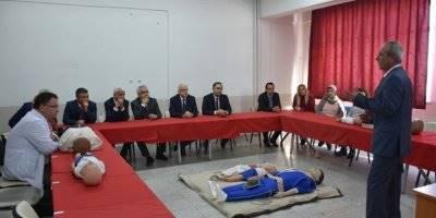 Karaman'da İlk Yardımla Hayat Kurtaracak Merkezin Açılışı Yapıldı