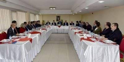 Karaman'da İstihdam ve Mesleki Eğitim Kurulu Toplantısı