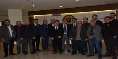 CHP Teşkilatından Karaman Ticaret ve Sanayi Odası Başkanlığı'na Ziyaret