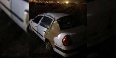 Konya'da Direksiyon Hakimiyeti Kaybolan Otomobil Takla Attı