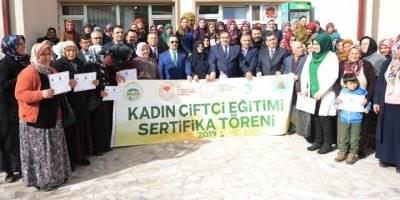 Aksaray'da Kadın Çiftçiler Kendi İşinin Patronu Olmaya Hazırlanıyor