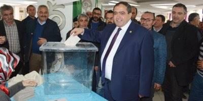 Aksaray Ziraat Odası Başkanlığına Emin Koçak Yeniden Başkan Seçildi