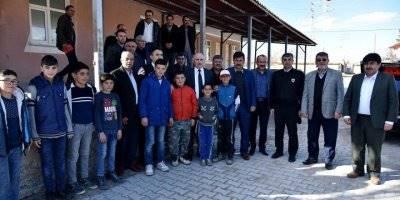 Karaman Valisi Fahri Meral Çoğlu, Karacaören ve Eğilmez Köylerini Ziyaret Etti