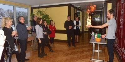 Aksaray Atatürk Anadolu Lisesi Öğretmenleri Letonya'da