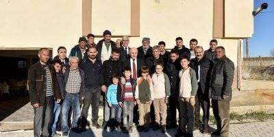 Karaman Valisi Fahri Meral  Kurtderesi Köyünde Ziyaret ve İncelemelerde Bulundu