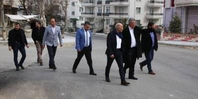 Tapduk Emre Mahallesi'nden Karaman Belediye Başkanı Ertuğrul Çalışkan'a Teşekkür