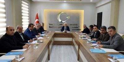 Karaman'da İlçe Milli Eğitim Müdürleri Toplantısı Gerçekleştirildi