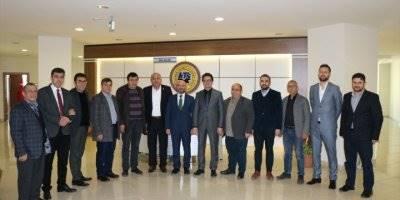 AK Parti Karaman Belediye Başkan Adayı Mahmut Şahin'den KTSO'ya Ziyaret