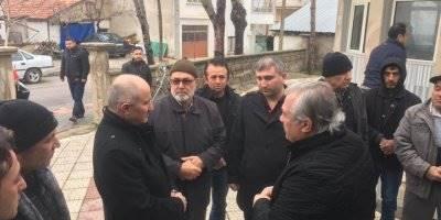 Karaman Valisi Fahri Meral Gazidükkan Mahallesini Ziyaret Etti