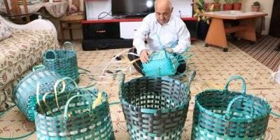 Atık Malzemeden Çanta Yapıp Karamanlılara Satıyor