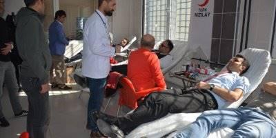 Mersin'de  Açık Ceza İnfaz Kurumundan Kan Bağışı