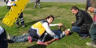 Antalya'da Trafik Kazası: 4 Yaralı