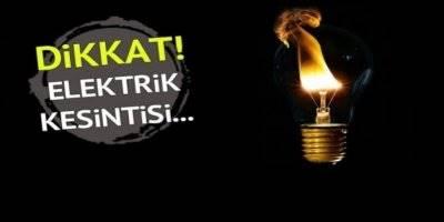 Karaman'da Yarın İçin Elektrik Kesintisi Uyarısı
