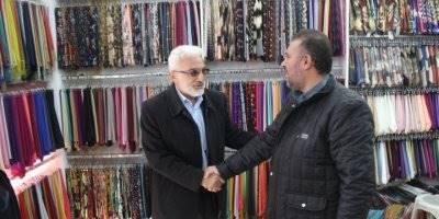 Saadet Partisi  Karaman Belediye Başkan Adayı Şaban Şahin'den Esnaflara Ziyaret