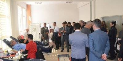 Karaman'da Adliye Personellerinden Kan Bağışı