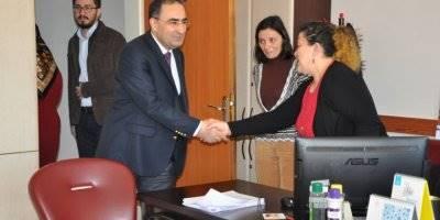 Karaman İl Sağlık Müdürü Hasan Arslan Çalışan Bayan Personelleri Ziyaret Etti