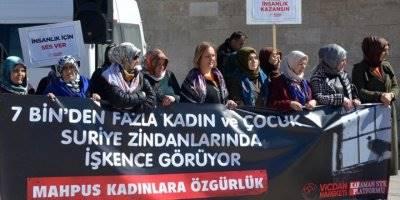 Karaman-Konya ve Aksaray'da Suriye'deki Tutuklu Kadın ve Çocuklar İçin Destek Çağrısı
