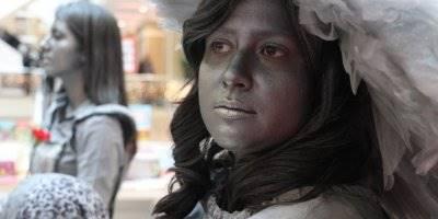 Aksaray'da 3 Kadın Yeşil İçin Griye Boyandı