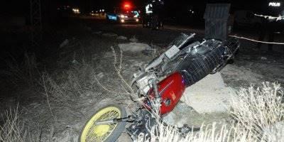 Niğde'de Motosikletler Çarpıştı: 1 Ölü, 1 Yaralı