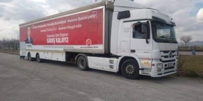 MHP Belediye Başkan Adayı Savaş Kalaycı'nın Projelerini Tanıtan Seçim Tırı Yola Çıktı