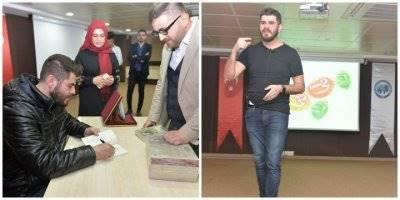 KMÜ'de Tuğrul Selmanoğlu Söyleşisi