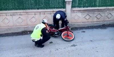 Aksaray'da 'Dur' İhtarına Uymayan Sürücü Kovalamacayla Yakalandı