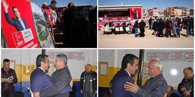 MHP Seçim Çalışmalarına Dört Koldan Devam Ediyor