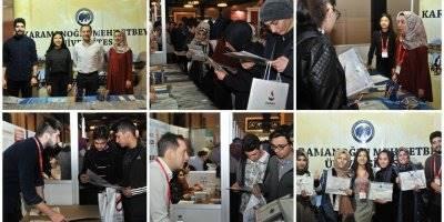 KMÜ Konya'da Üniversite Tanıtım Fuarı'na Katıldı
