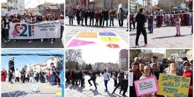 Karaman'da 21 Mart Dünya Down Sendromlu Farkındalık Yürüyüşü