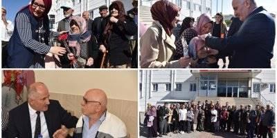 Karaman Valisi Fahri Meral Yaşlılar ve Öğrenciler İle Bir Araya Geldi