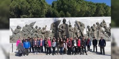 Antalya'da Liseli Öğrenciler Çanakkale Ruhunu Yaşadı