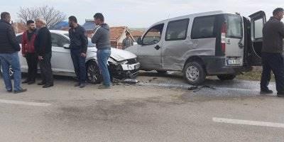 Konya Kulu'da Trafik Kazası