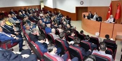 Karaman'da İl Koordinasyon Kurulu Toplantısı Yapıldı