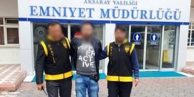 Aksaray'da 8 Yıl Hapis Cezası Bulunan Uyuşturucu Taciri Yakalandı