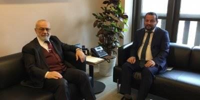 KMÜ Rektörü Mehmet Akgül'den Cumhurbaşkanlığı Başdanışmanı Adnan Tanrıverdi'ye Ziyaret