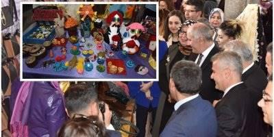 Karaman'da El Sanatları ve Resim Sergisi Açıldı