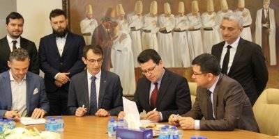 """Konya'da """"Yap İşlet Devret Modeli"""" Protokolü İmzalandı"""