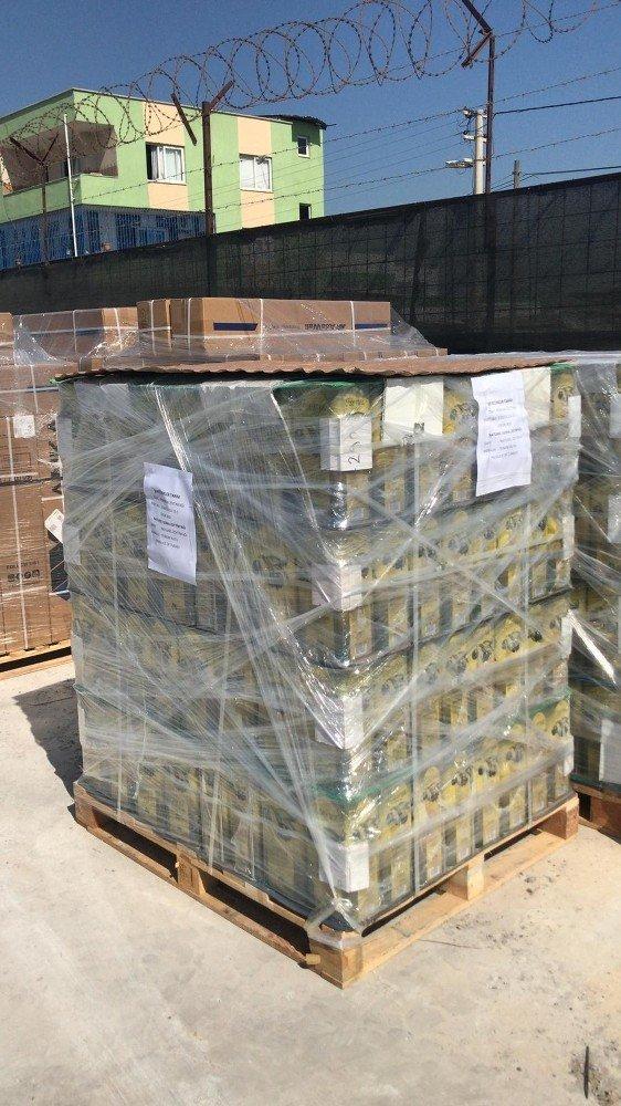 Mut'ta Üretilen Zeytinyağına  Dubai'den Müşteri