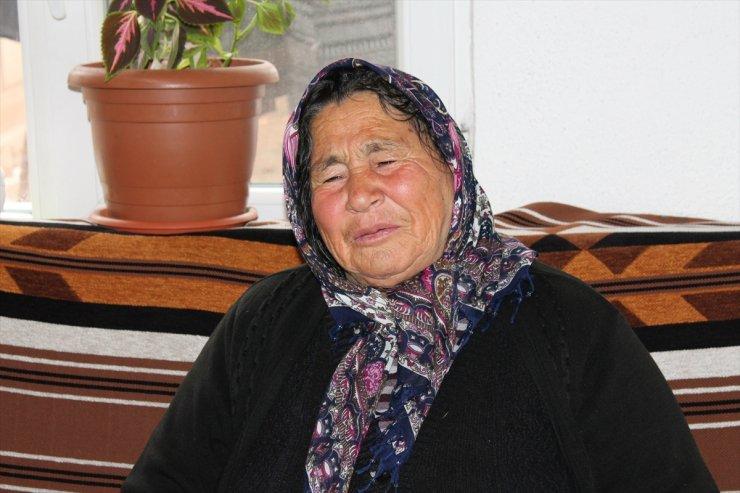 Aksaray'da Hindileri Çalınan Kadın Gözyaşlarına Hakim Olamadı