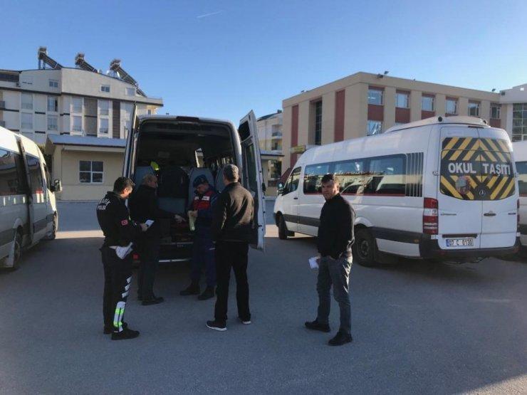 Antalya'da Okul Servisi Denetimi