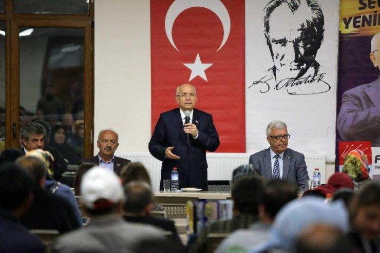 Yenimahalle Belediye Başkanı Fethi Yaşar Niğdelilerle Buluştu
