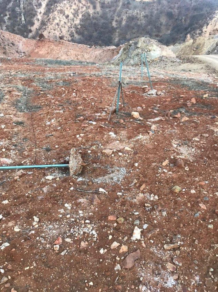 Konya'da Demir Direk Ve Tel Çalan Kişi Yakalandı
