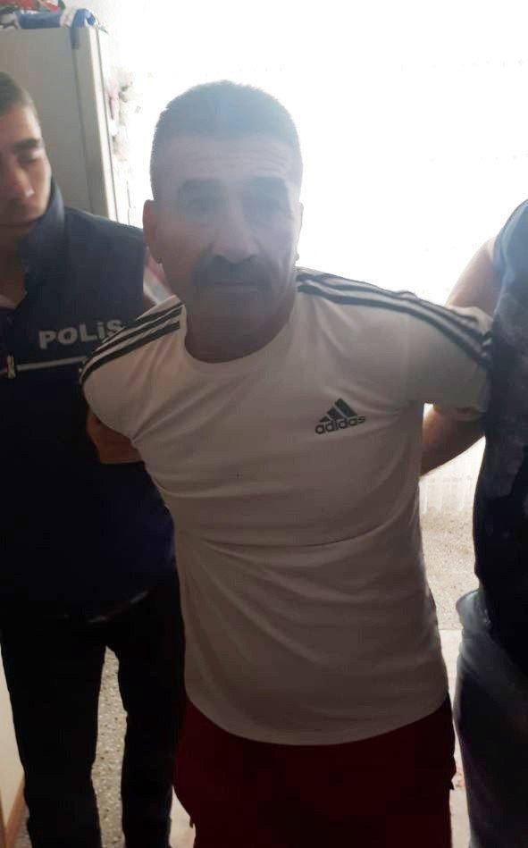 Aksaray'da 56 Yıl 8 Ay Hapis Cezası Bulunan Şahıs Yakalandı