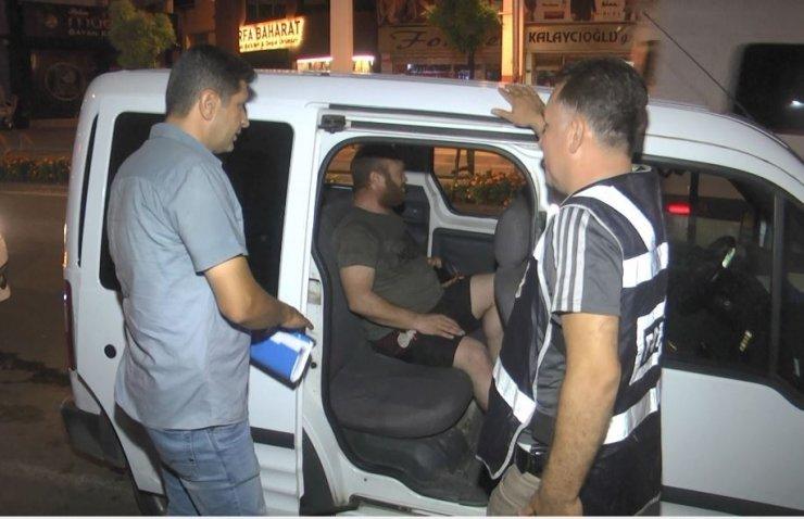 Antalya'da Geniş Kapsamlı Asayiş uygulaması